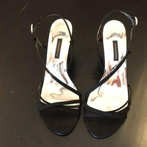Caparros black dressy heels size 7.5